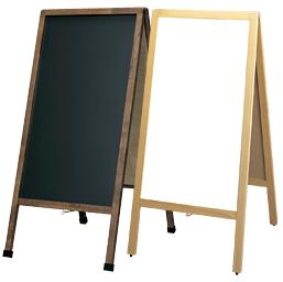 マーカーペンで書けるA型看板