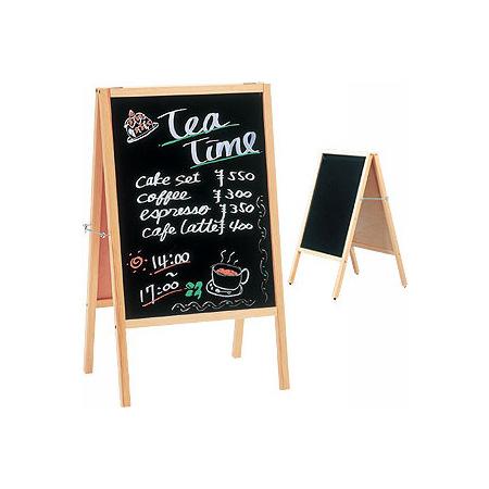 店舗にオススメな木製スタンド看板