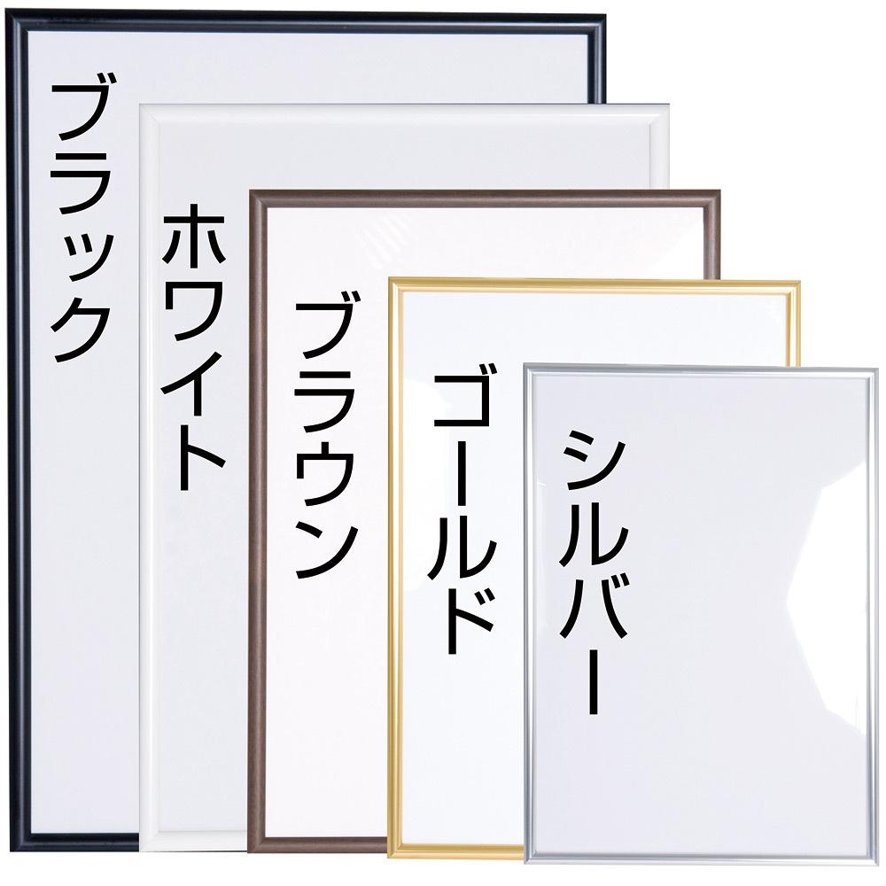 ニューライトフレーム a1 カラー:ブラック (52851a1b) - ポスター