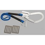 安全帯 補助ロープ (TS-2A 3Dカン) 青 (379-87)
