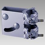 カーブミラー取付用金具 単管取付金具 (384-96)