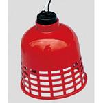 すずらん灯 (2mもの) カラー:赤カバー (387-50)