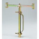 反射看板関連用品 ガードレール用看板スタンド (389-85)