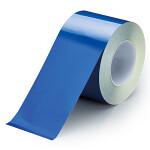 ユニフィットテープ 屋内床貼り用  強粘着タイプ 100mm幅 20m巻 青 (863-658)