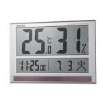 大型デジタル温湿度計 室内用 (HO-126)