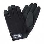 手袋 PUドクターブラック サイズ:L (379-3BK-L)