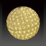 LEDクリスタルグローボール ウォームホワイト 中