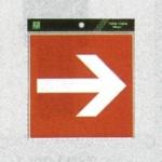表示プレートH ピクトサイン ステッカー 表示:矢印 (ES1620-9)