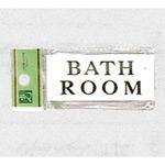 表示プレートH トイレ表示 アクリル 表示:BATH ROOM (バスルーム) (UP370-14)