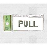 表示プレートH ドアサイン アクリル 表示:PULL (UP370-2)