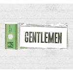表示プレートH トイレ表示 アクリル 表示:GENTLEMEN (ジェントルマン) (UP370-3)