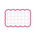 カード 16-4080 抜型カード四角 小 P (21248***)