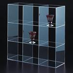 3列3段ディスプレイ台 450×150×450 (30640***)