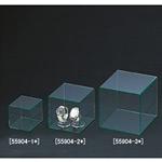 アクリル4面ボックス グリーンエッヂ 100角 (55904-1*)