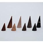 木製円錐リング 黒檀 S (53396-1*)