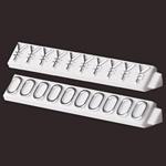 ニュープライスキューブ補充用単品 L用(白/銀文字)1袋20粒入 種別:0 (07105CM0)