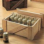 缶ビールストッカー 白木 (無塗装) (40150***)