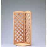 木製コーナースクリーンスリム H1200 (53616-1*)