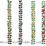 ハイビスカスガーランド レッド ワイヤー無し (31119RED)