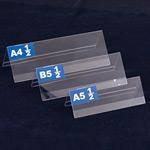 PET折リタタミ式卓上プレート A4 1/2 (54644A4H)