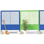 プラスチックフェンス (タンクベース別売) 緑 (42444GRN)