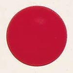 デコバルーン (10枚入) 9cm 濃赤 (SAGD6110)