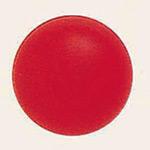 デコバルーンパール (10枚入) 9cm 赤パール (SAGD6155)