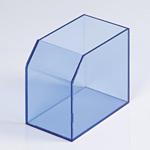 レシート回収BOX クリアブルー (59493BLU)
