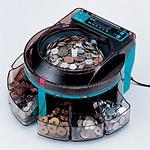 コインソーター (電動小型硬貨選別機) SCS-200 (41182***)