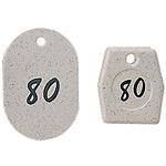 グラニットクロークチケット ホワイト (1〜50) (11007***)
