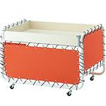 テント張りワゴン W1000 オレンジ (50348-1*)