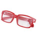 老眼鏡単品 強度+3.5 レッド (32423***)