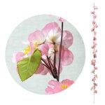 シルク桜ガーランド (1809)