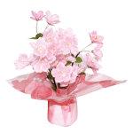 和柄桜ポット (12582)