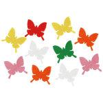 フェルト蝶々 10枚セット (10690)