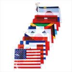 ポリ万国旗(大)20カ国 (665)