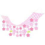 バリュー桜プリーツハンガー (16230)