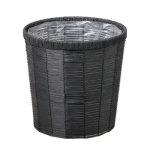 鉢カバー ブラック (50012)