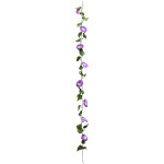 朝顔ガーランド 紫 (a020005)