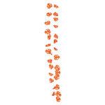 カラフルスピリットフィロガーランド オレンジ (22528)