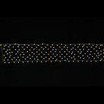 LEDケサランスターロングネットゴールド&ホワイト (044601)