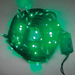 LEDライト100球グリーン (007342)