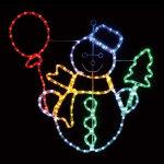 LEDチューブライトスノーマン (044510)