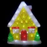 LEDクリスタルハウス (044532)