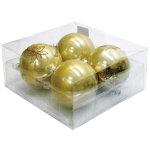 パールカラーボール100mm4個入 ゴールド (043901)