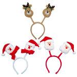 クリスマスカチューシャ 3種セット (046251)