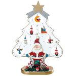 木製クリスマスツリーホワイト (044590)
