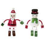 キュ-トクリスマスフレンズマスコット 2個セット (044448)