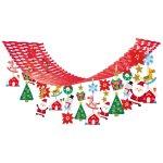 ワンダークリスマスプリーツハンガー (040782)