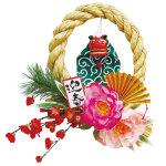 迎春獅子舞飾り (40770)